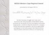 Wessa Award2
