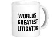 litigator's mug